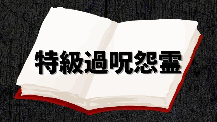 【呪術廻戦】特級過呪怨霊(とっきゅうかじゅおんりょう)とは